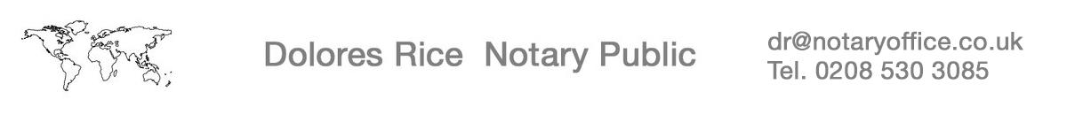 London Notary Public Logo